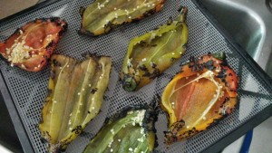 Roasted and Dehydrated End-of-Summer Chilies